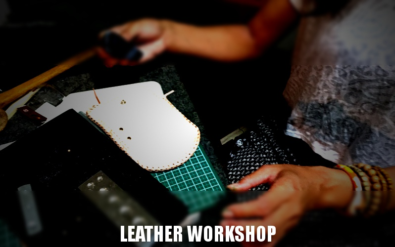 MOTOJI'S LEATHER WORKSHOP 20150525