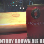SUNTRY BROWN ALE BEER