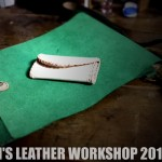 MOTOJI'S LEATHER WORKSHOP 20150625