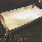 LEATHER TRAY MOTOJI'S LEATHER