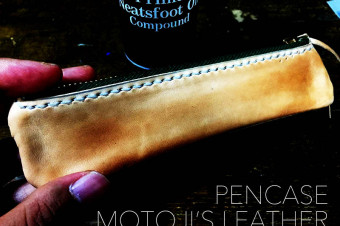 PENCASE MOTOJI'S LEATHER
