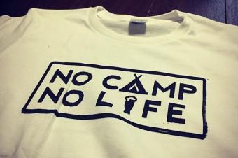 SOLD NO CAMP NO LIFE T-SHIRT  #tooeys.jp