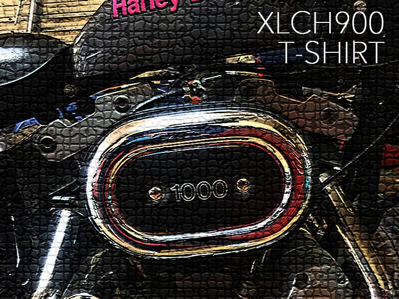 HARLEY-DAVIDSON XLCH900 T-shirts / SUZURI