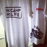 SOLD THANK YOU #no camp no life #cb750  #tshirts #tooeysworks #tooeys.jp #silkscreen #handmade