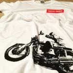 CB750-T SOLD #cb750four #cb750 #vintage #motorcycle #honda #tooeysworks #tooeys.jp #tshirt #silkscreen #handmade