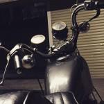 RAINY DAY #ironhead #shovelsports #shovelhead #77xlh #harleydavidson #vintagemotorcycle