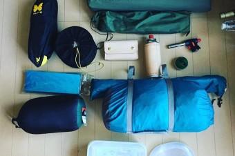 CAMP GOODS #solocamping #outdoor #harleydavidson #xlh1000#alite #nanga #soto #snowpeak #montbell #llbean