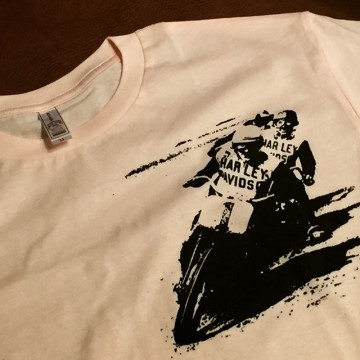MOTORCYCLE-T #silkscreen #tshirt #harleydavidson #tooeysworks #flattrack #vintagemotorcycle #handmade #sidevalve