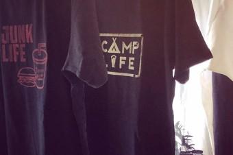 THANKS #silkscreen #tshirt #motorcycle #camp #tooeys.jp