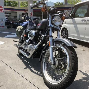 YAMANASHI #harley-davidson #sportster #shovelhead #shovelsports #ironhead #vintage #xlh #xlch #77xlh #xlh1000 #sportymania #vintagemotorcycle #ironsports #joe's motorcycle #tokyo #japan #tooeysworks