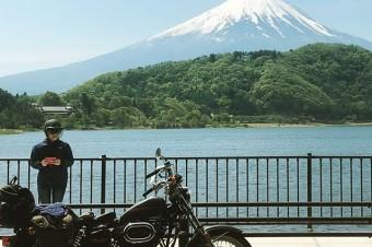 FUJI #harley-davidson #sportster #shovelhead #shovelsports #ironhead #vintage #xlh #xlch #77xlh #xlh1000 #sportymania #vintagemotorcycle #ironsports #joe's motorcycle #tokyo #japan #tooeysworks #fuji #kawaguchiko