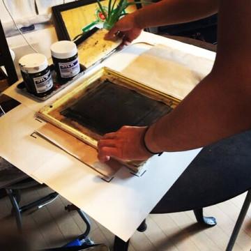 INAKAMON #silkscreen #handmade #arinomanma#inakamon.jpn.com#田舎文#ありのまんま#つがるロマン#青森のお米 #aomori