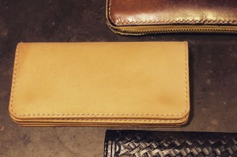 HANDMADE LONGWALLET#leathercraft #handmade #wallet #tooeysworks #gift