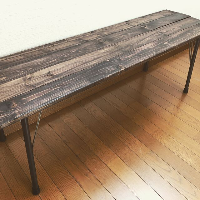 DINING BENCH #diy #handmade #briwax #craft