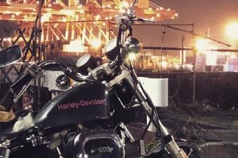 SEA SIDE JET CITY#harleydavidson #sportster #shovelhead #iron#ironhead #xlh #xlch #77xlh #xlh1000 #vintagemotorcycle #tooeysworks