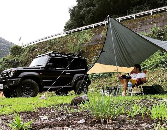 SOLO CAMP! WITH JIMNY SIERRA